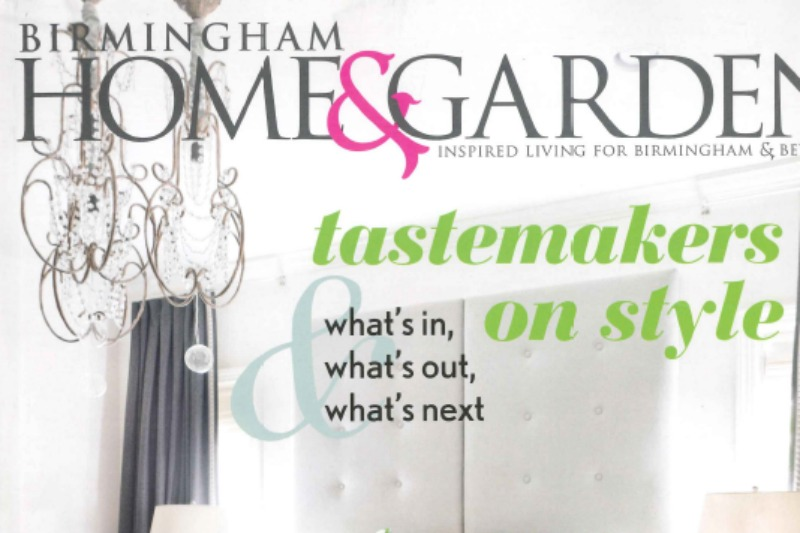 Twin in the January/February 2015 Issue of Birmingham Home & Garden