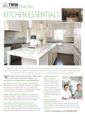 Twin Tips: Kitchen Essentials