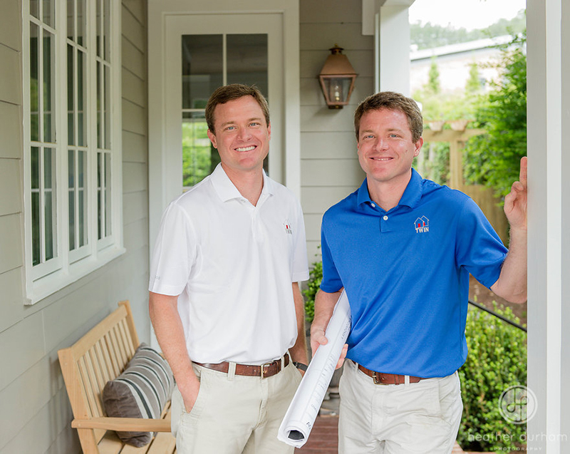 William and David Siegal, owners of Twin Construction, Inc.