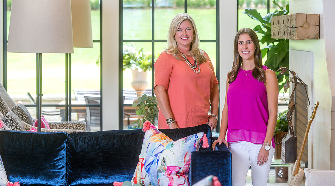 Twin Interiors Design Team: Laurie Fulkerson and Danielle Schriefer