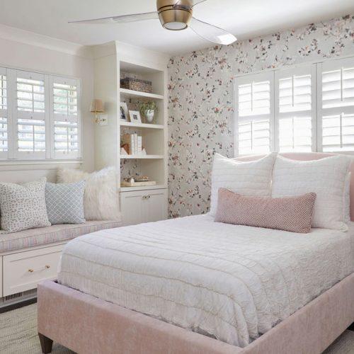 Kids Bedrooms Wallpaper Builtins