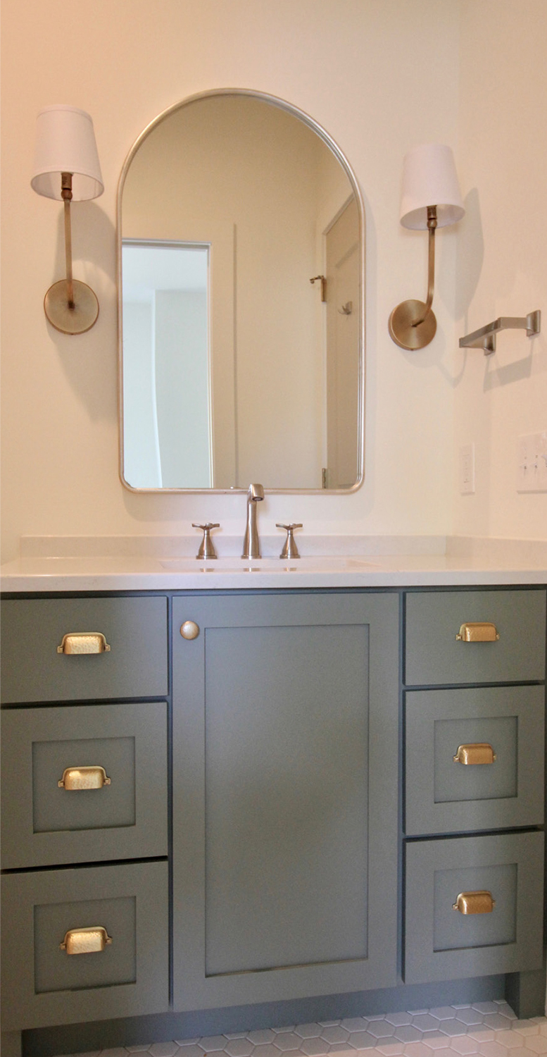 Cabinets with character Painted Cabinets