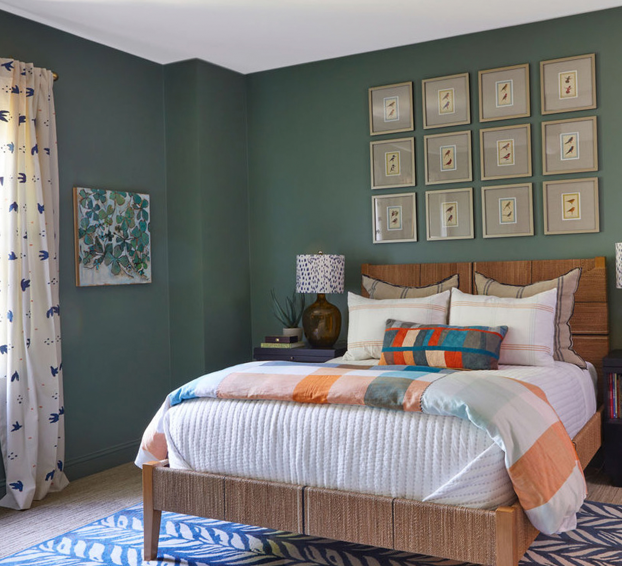 Masculine Masterpiece Kids Room Wall Color Fabric