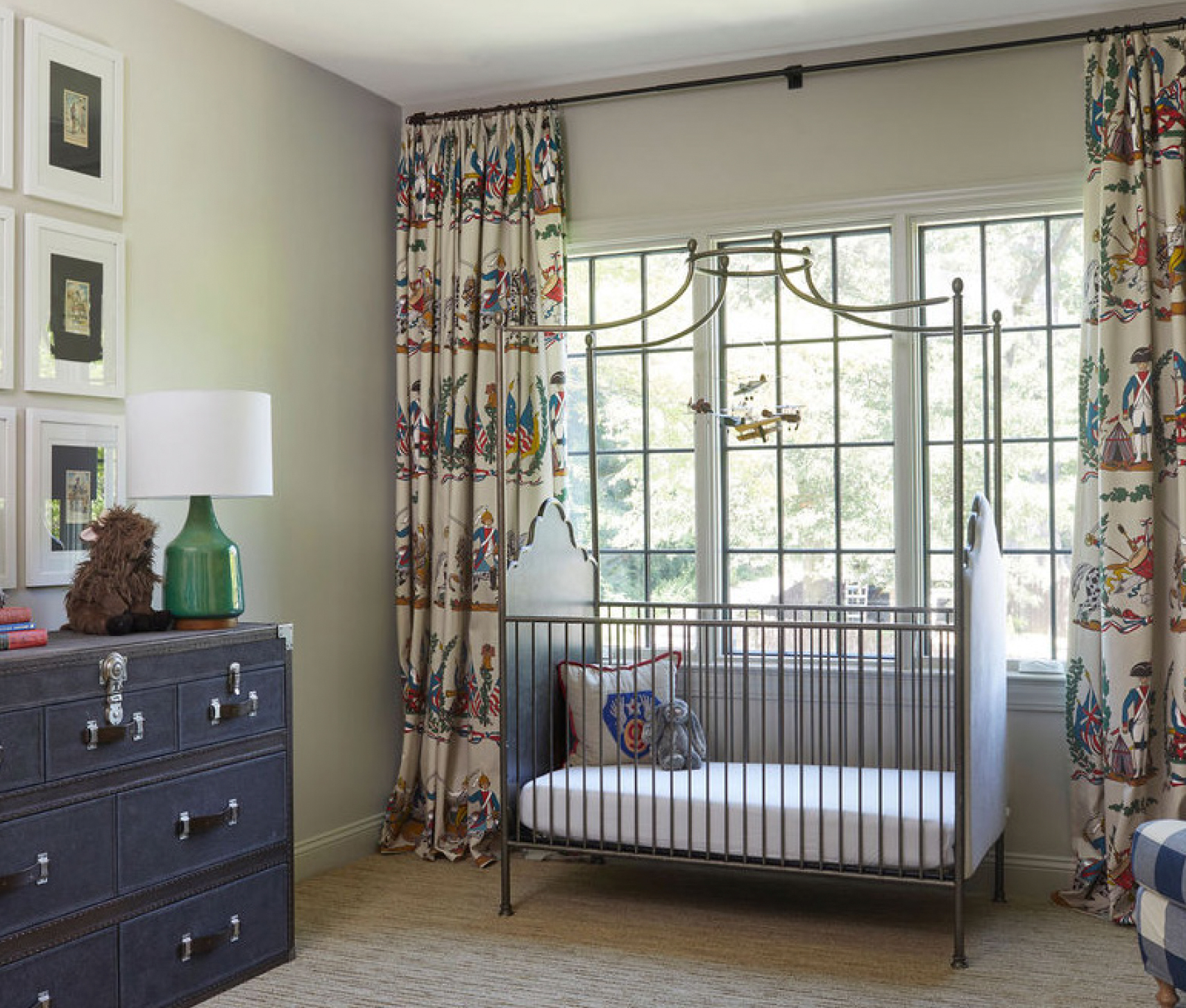 Masculine Masterpiece - Classic Fabric Baby Room