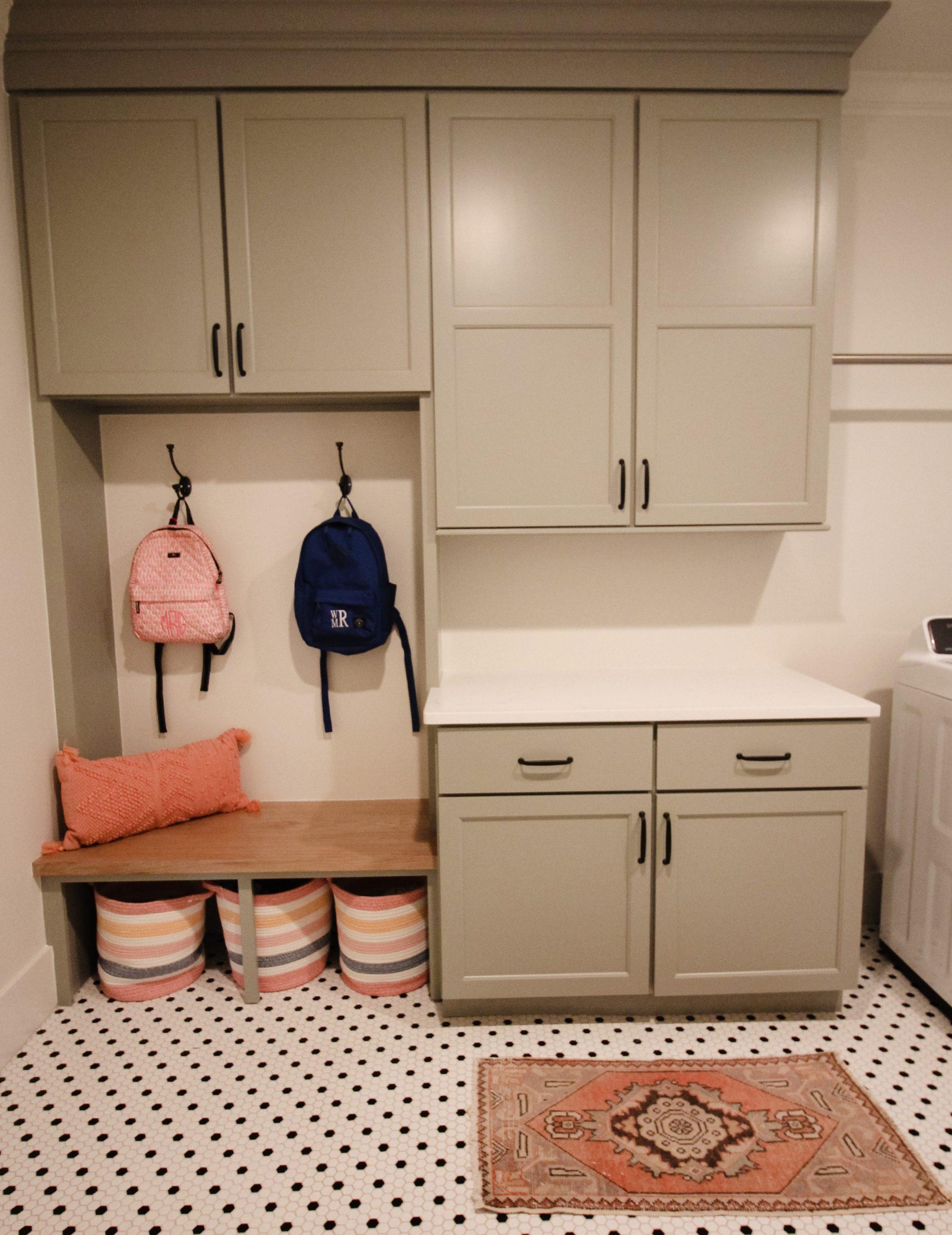 September Laundry Built-In